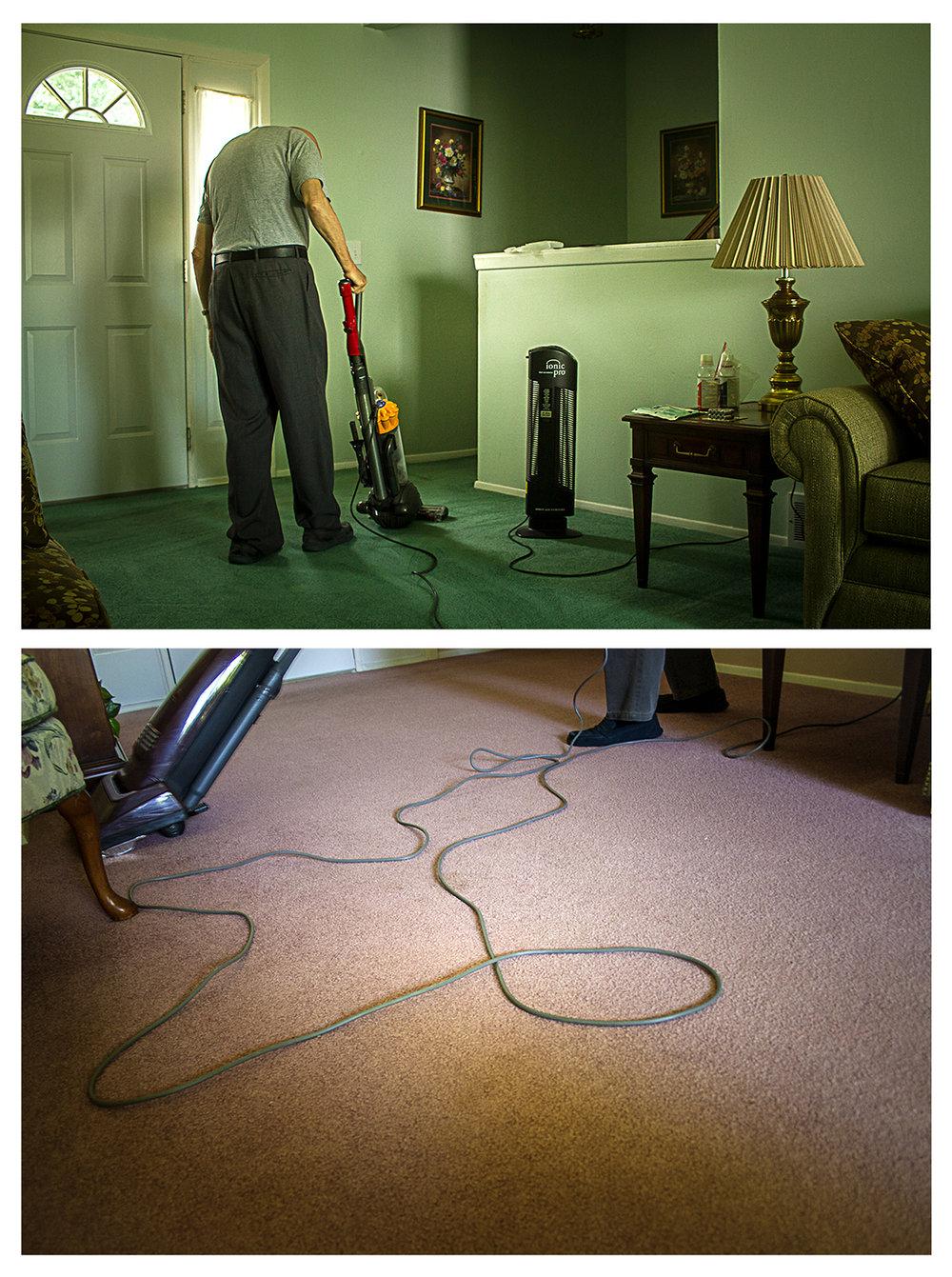 9am – Sweeping the Floor 2006/2016  ©   Chris Ireland