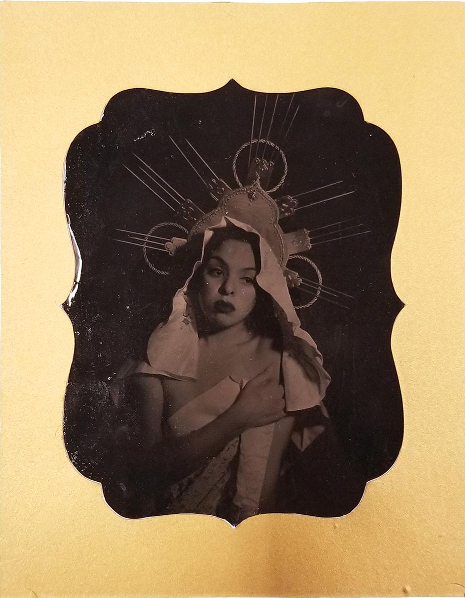 "Santísima Trinidad,  Collodion Wet Plate Process, 4x5"", 2018 © Gabi Maglay"