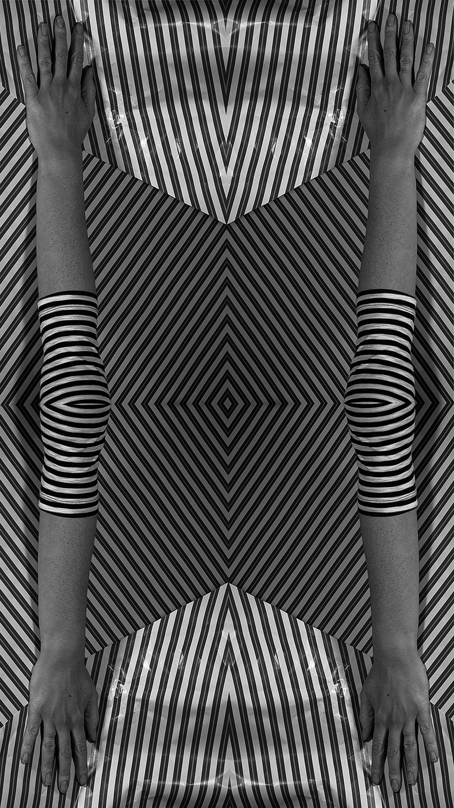 Illusion No. 2 , 15 by 25 inches, Archival Inkjet print on wall fabric, 2018, $500 © Ashley Whitt