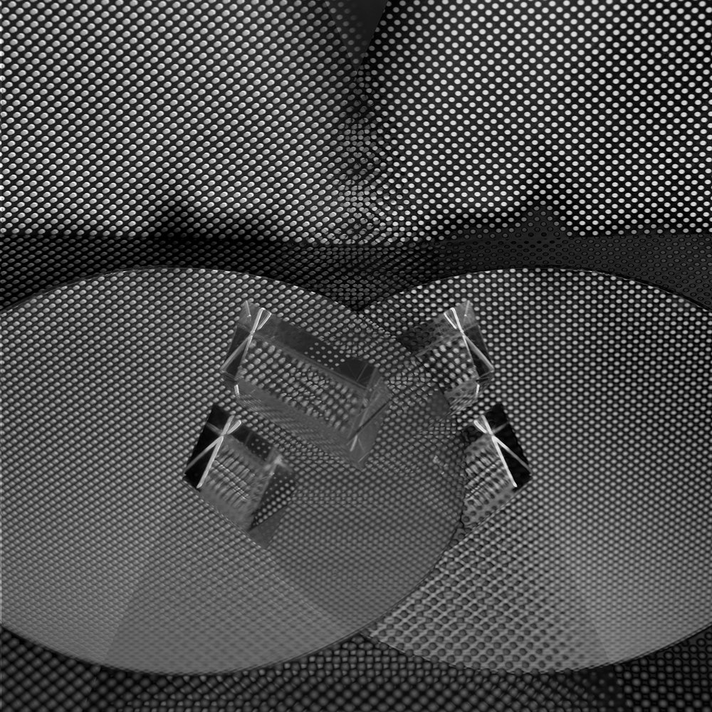 Converging Prisms , 18 x 18 inches (framed), Archival Inkjet print, 2018, $400 © Ashley Whitt