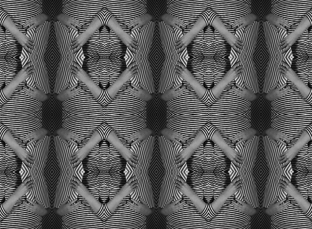 Illusion No. 1 , 48 x 28 inches, Archival Inkjet print on wall fabric, 2018, $500 © Ashley Whitt