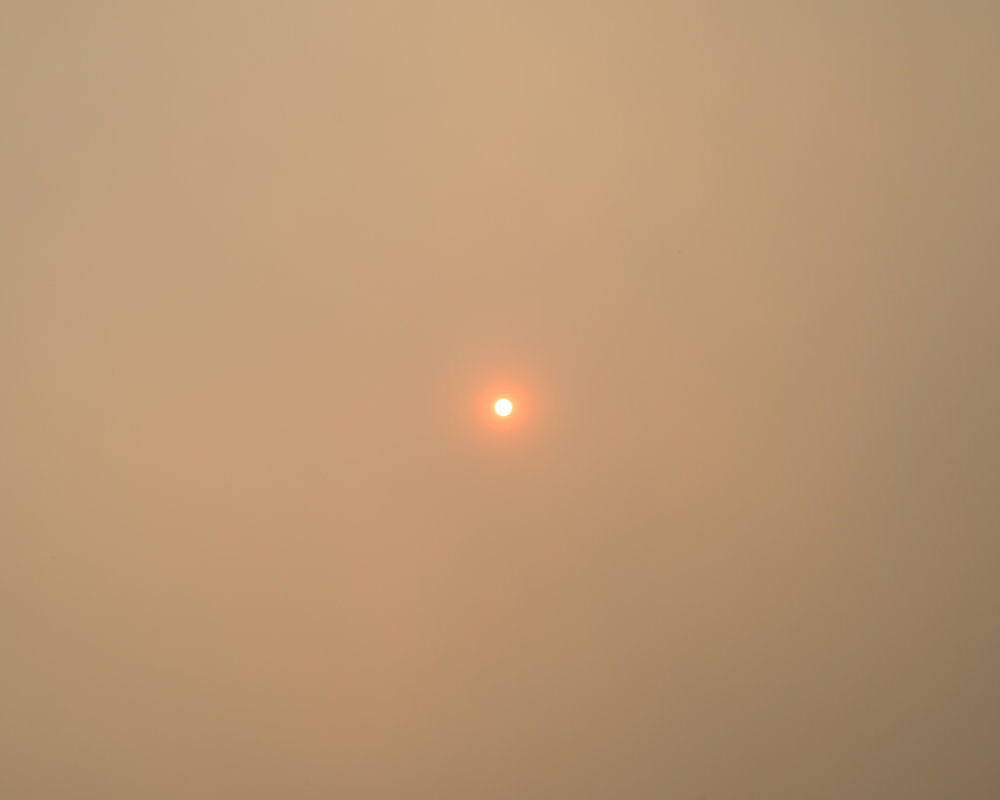 Sun and Smoke (Idaho) , 2016 © Lily Brooks