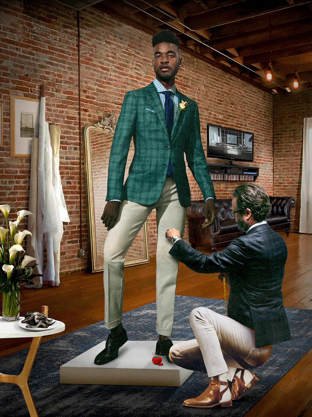 Tailor , 2017 ©  Jayson Bimber