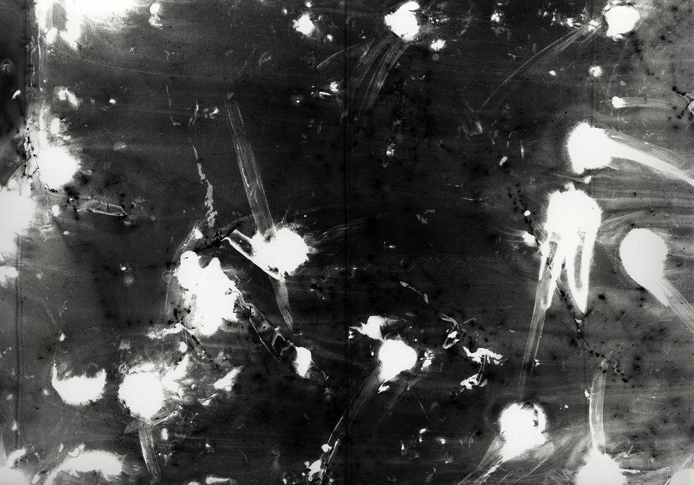 Abstrograph no. 11   Unique gelatin silver photograph,  16 x 20 inches  2018