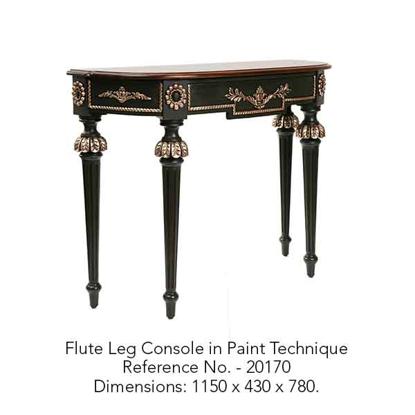 Flute Leg Console in Paint Technique.jpg