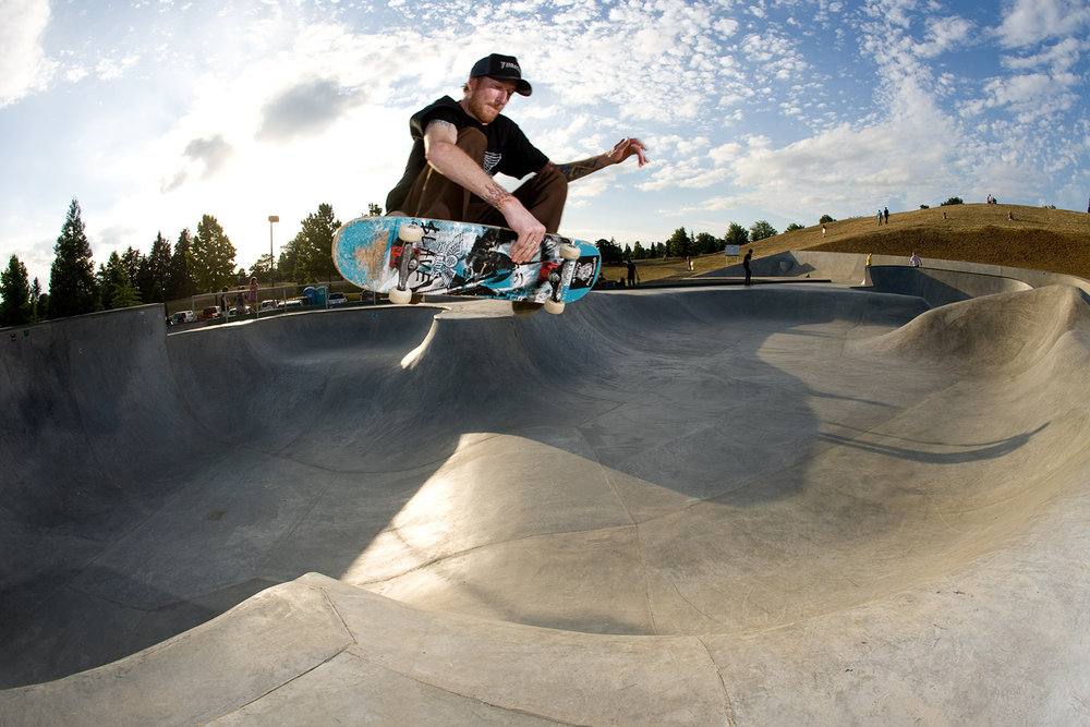 Gabriel Park Skatepark offers a wide open space for all levels of skateboarders and enthusiasts.
