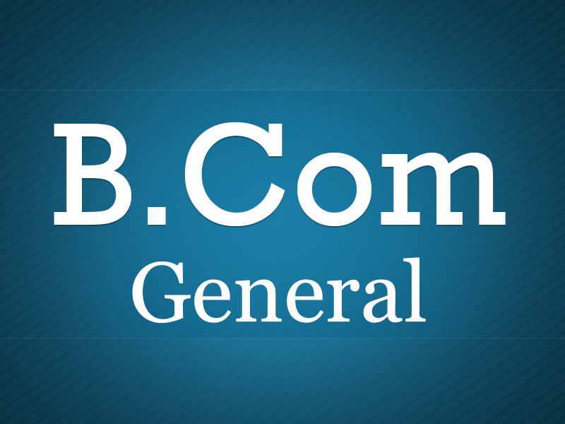 B.Com - General