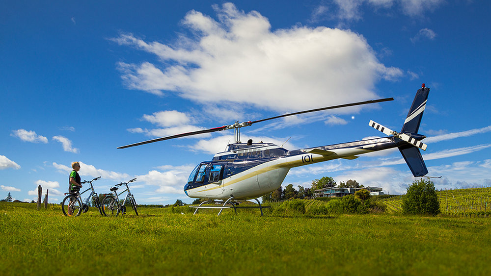 Helicopter/Cycle Tours