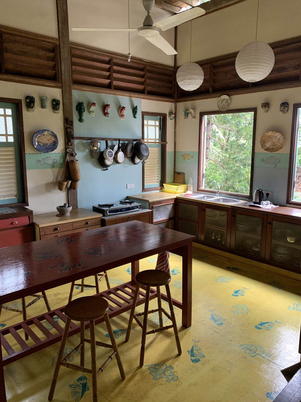 Main House jungle kitchen, Tiger Rock