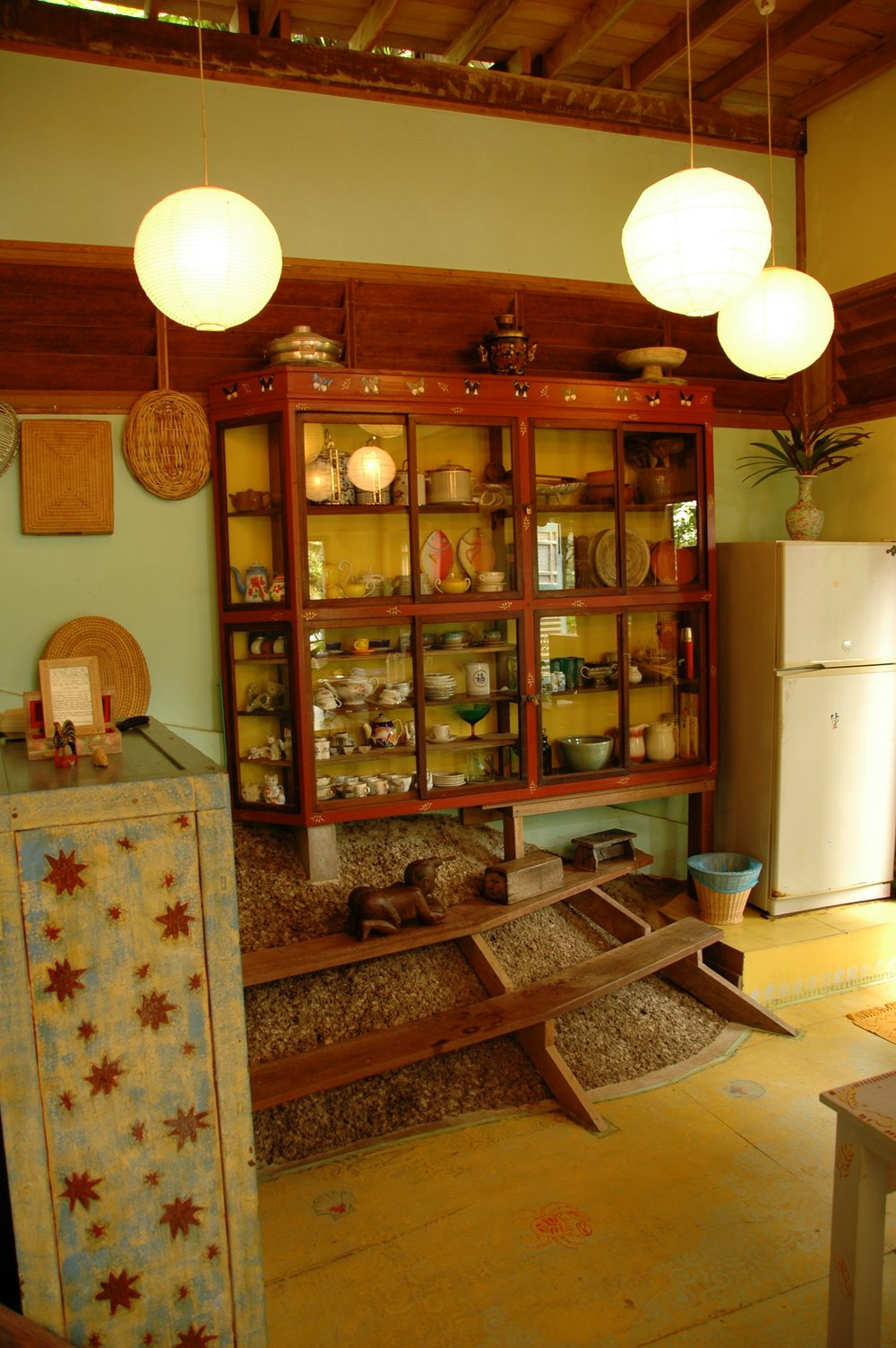 Main House jungle kitchen, Tiger Rock.