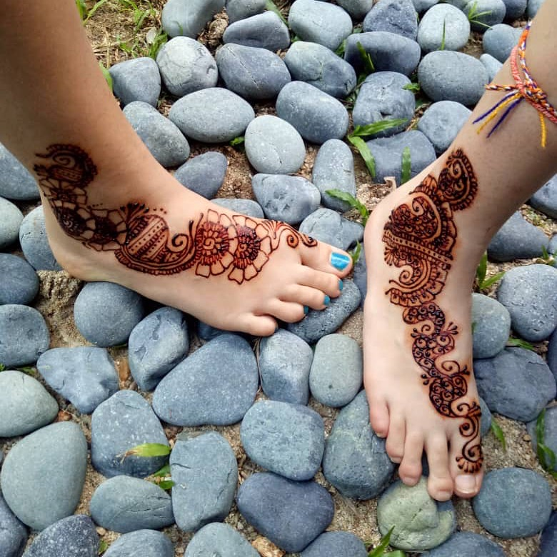 Get henna'ed at the Pool House
