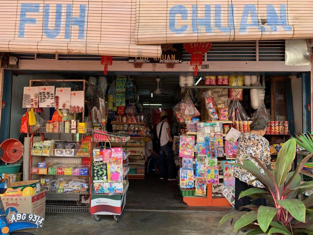 Local sundry shops