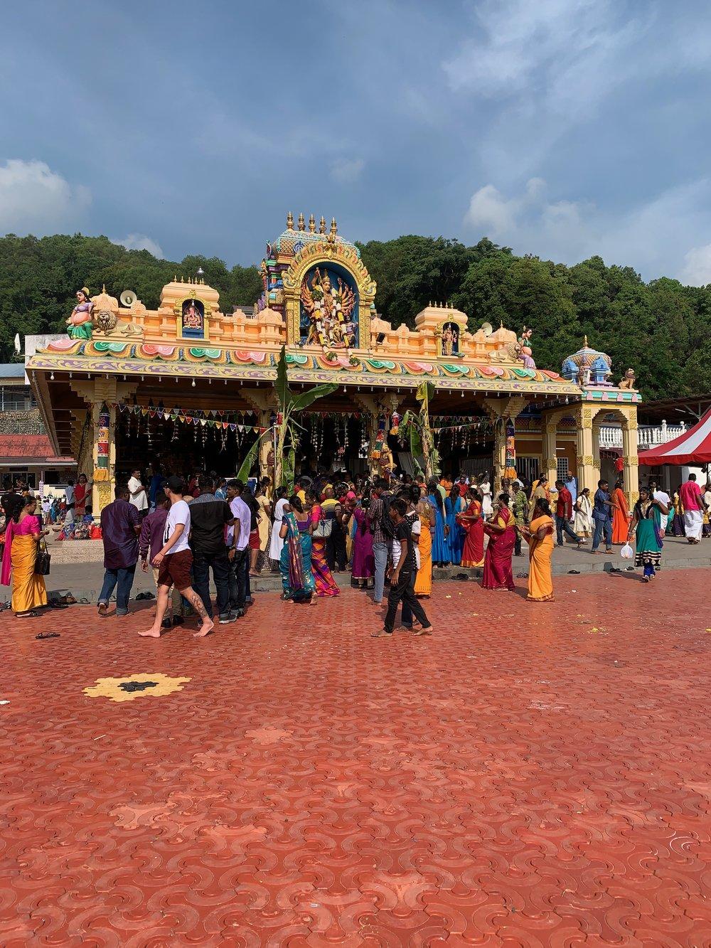 The Kali Temple on Pangkor Island