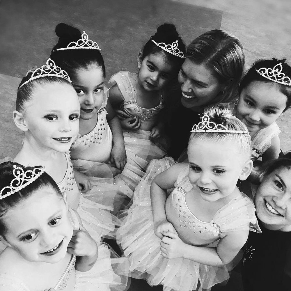 Petite Ballet - A perfect mix of classical music, creative movement, free dance, ribbons and tutus. Our Petite Classes make ballet-dreams come true!