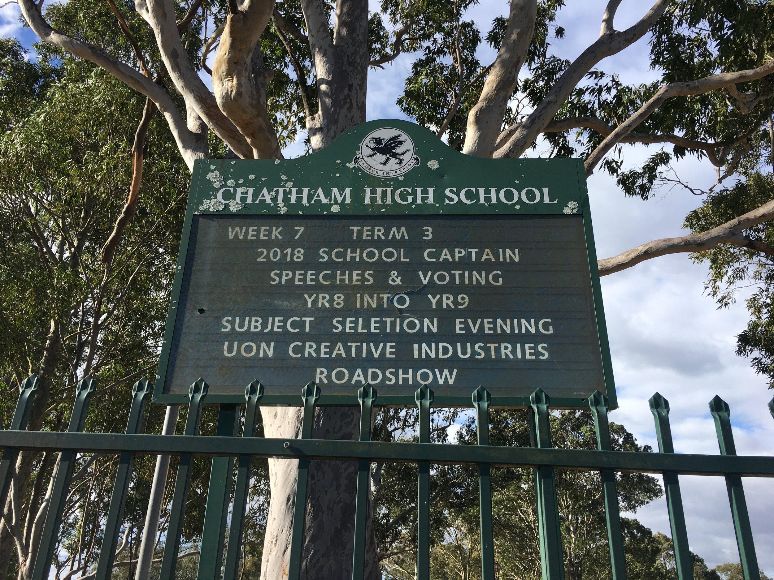 School Notice Board