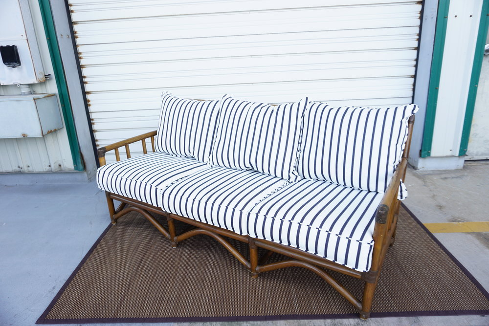 Outdoor Rattan In Stripe Qty:2
