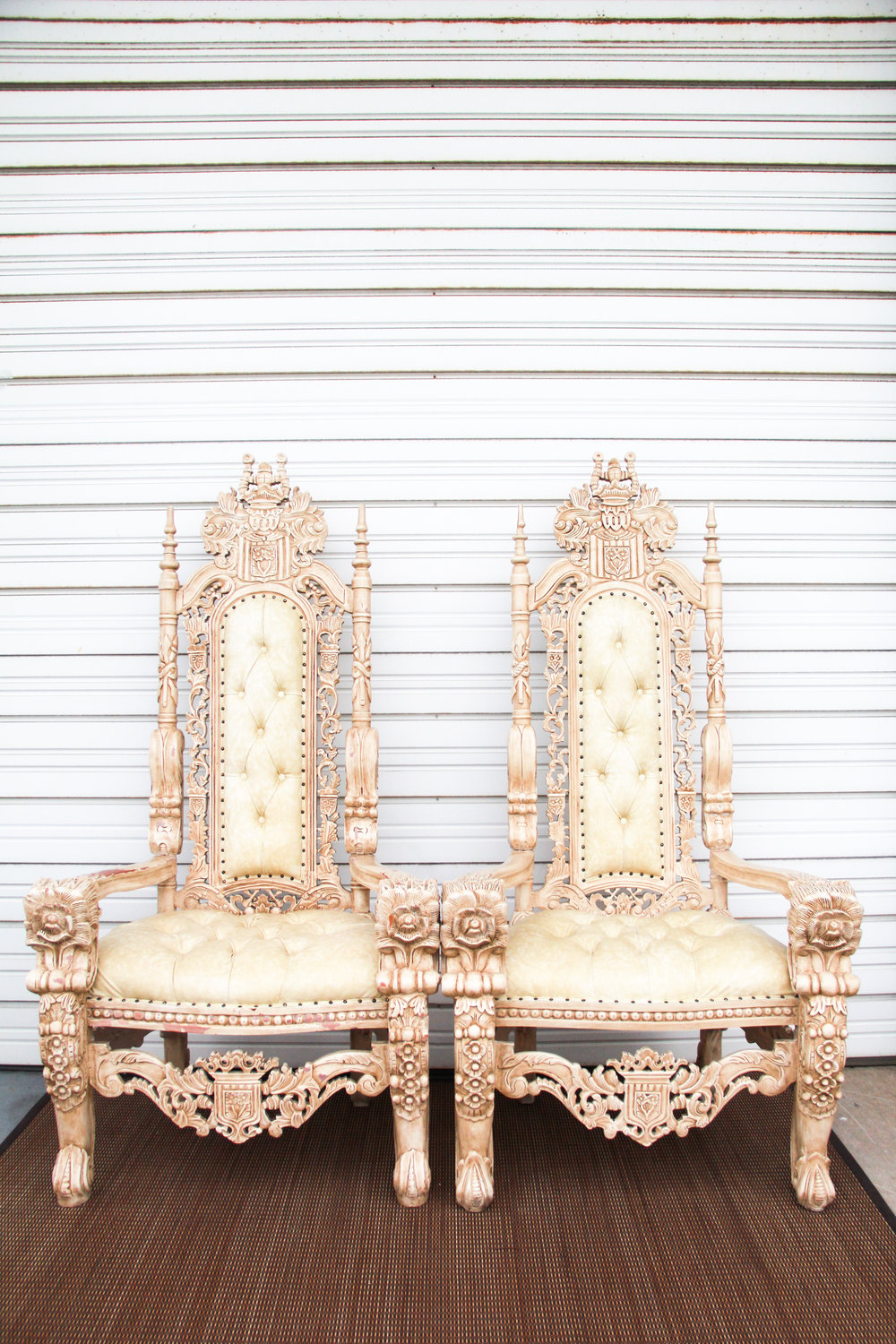 Royal Ivory Thrones