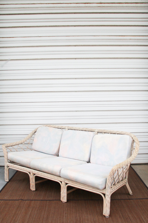 Ivory Rattan + Full Lounge