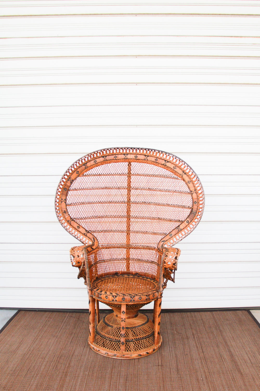 Emmanuelle Peacock Chair