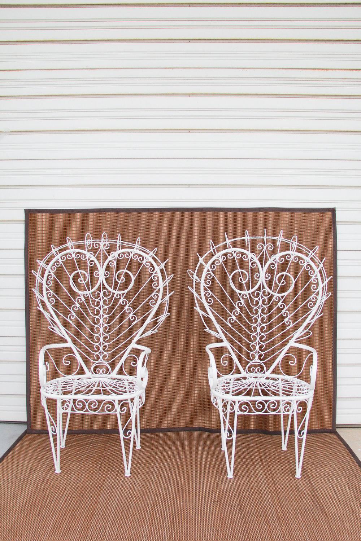 Iron Hearts Peacock Pair