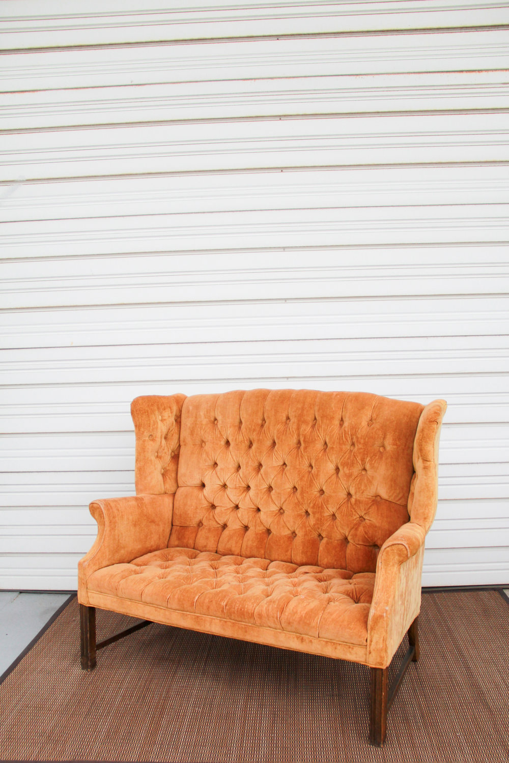 Kernal Mustard Loveseat