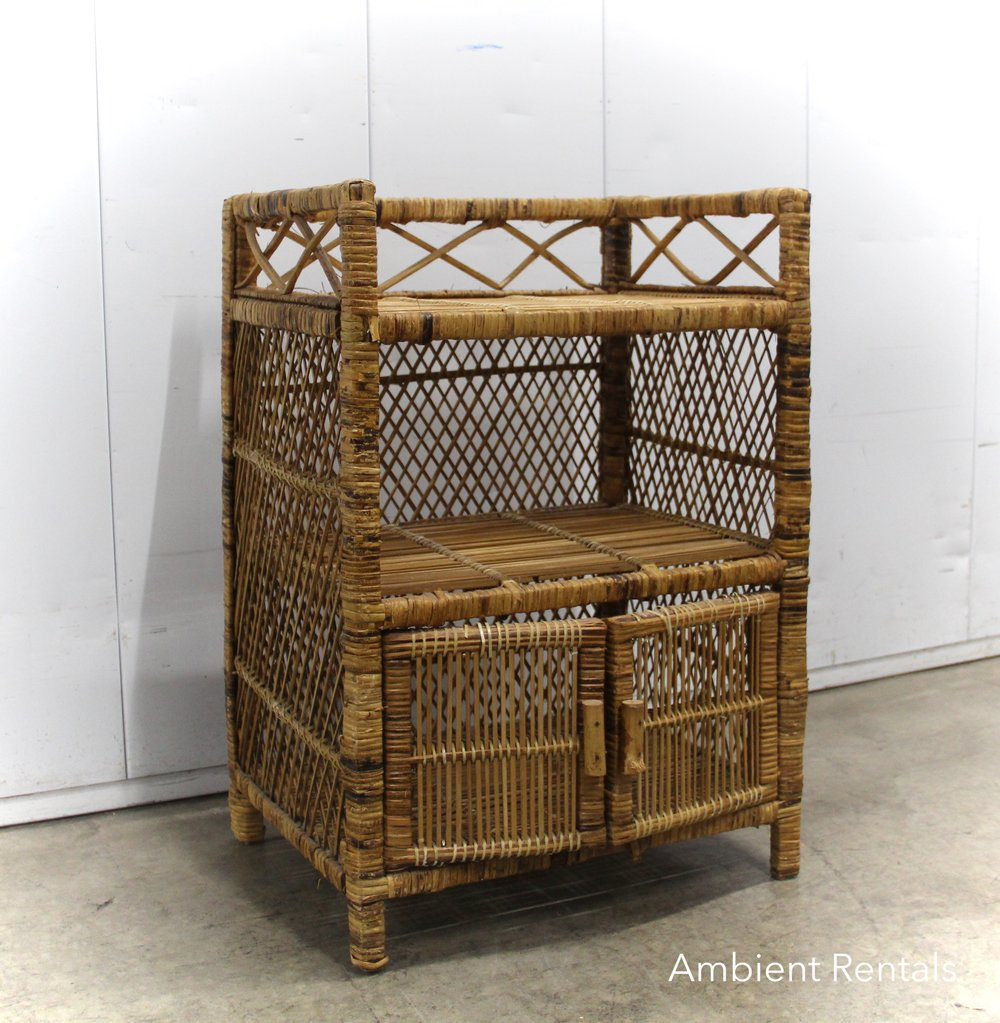 Small wicker shelf