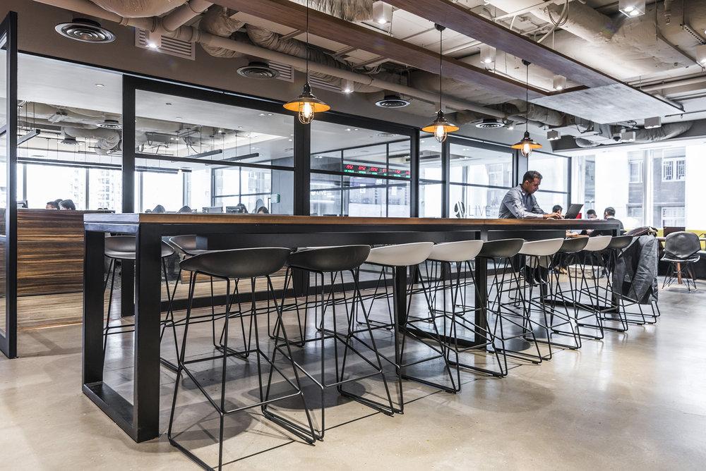 Office Concrete Flooring