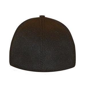 Black Flexfit - Ultrafiber Cap Air Mesh Sides — BAD Brewing Company dbb73fbc20f3