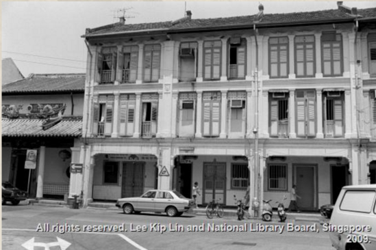 15A and 17A Keong Saik Road, 1983   *Photo credit:   National Library Board Singapore