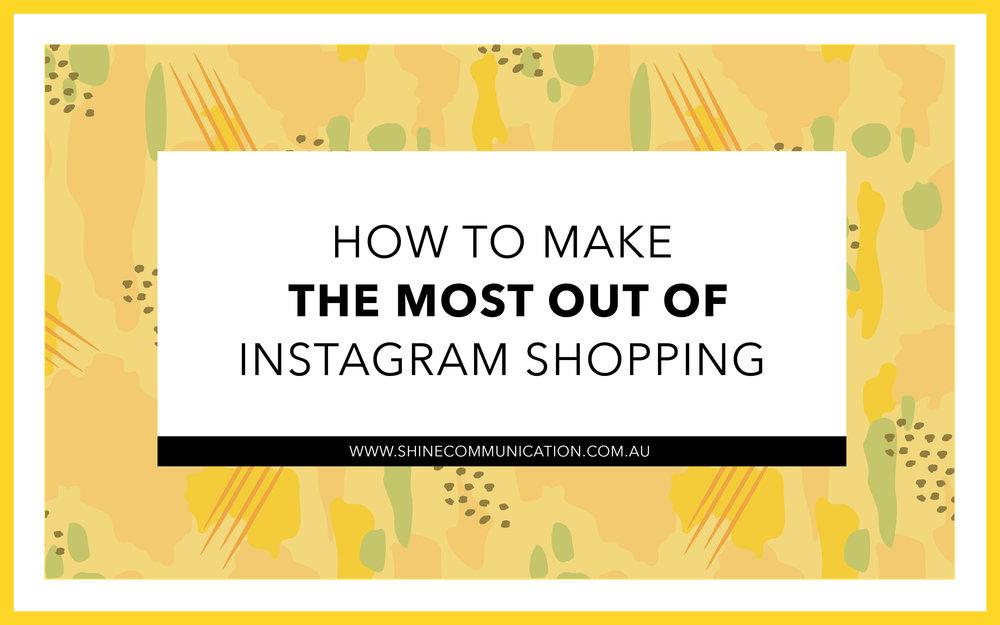 Instagram Shopping for small business Shine Communication Bendigo.jpg