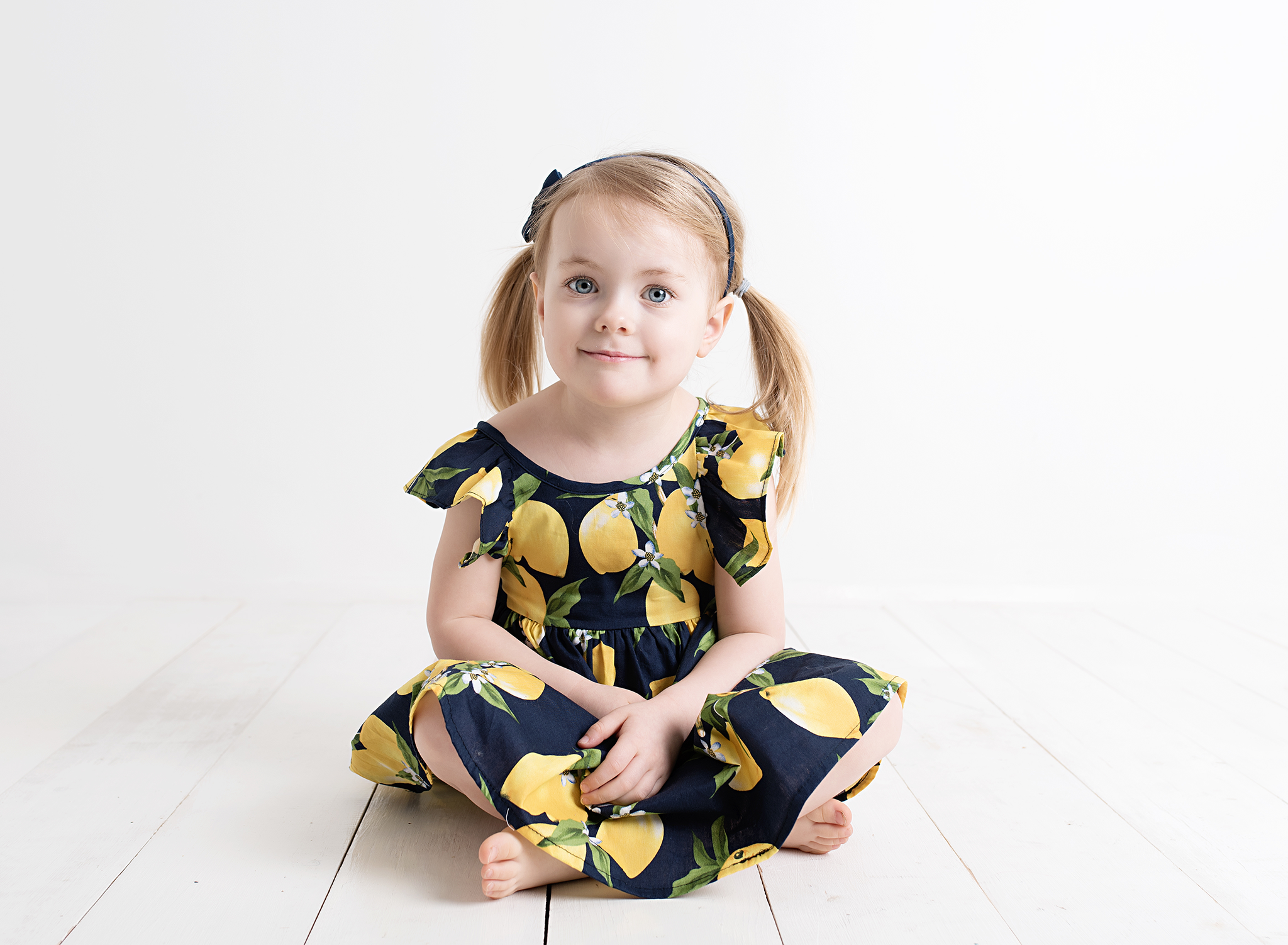 Pretty \'Pinny\' Lemon Dress — Style My Kid