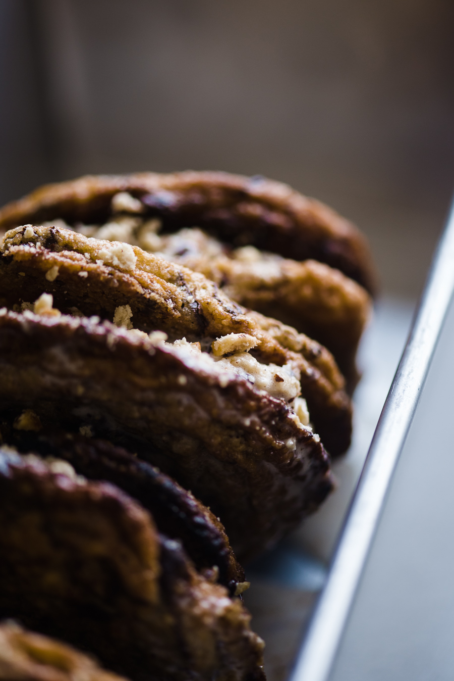 Gather a Table - HALVA ICE CREAM SANDWICH COOKIES WITH HAZELNUTS AND CACAO NIBS
