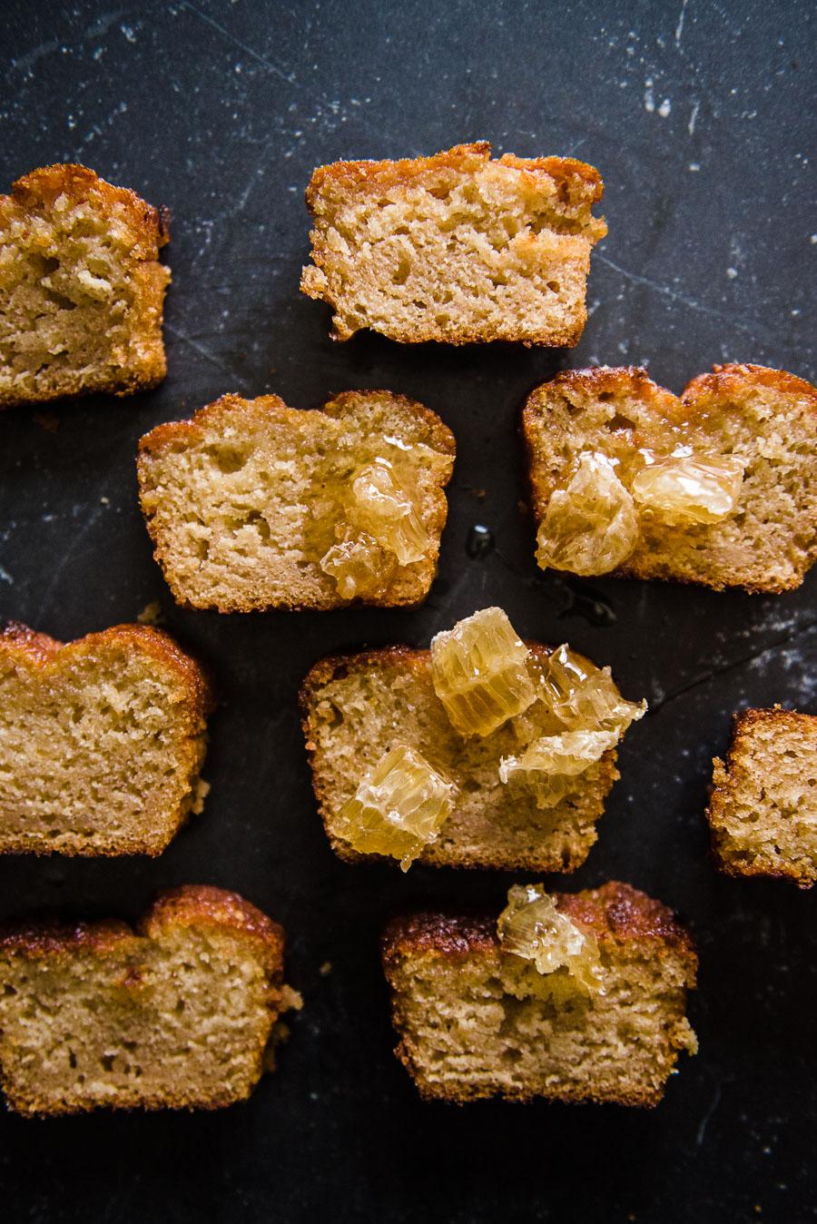 Early Grey and Cardamom Honey Cake