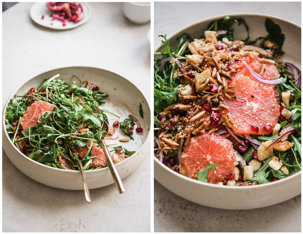 Blood Orange Salad with Soy Vinaigrette - Gather A Table