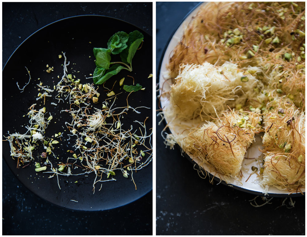 Kanafeh - Sweet Cheese Dessert - Gather A Table