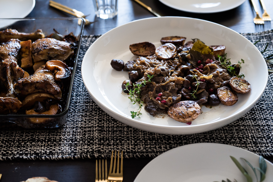 Chestnut Minute Steak | Gather a Table