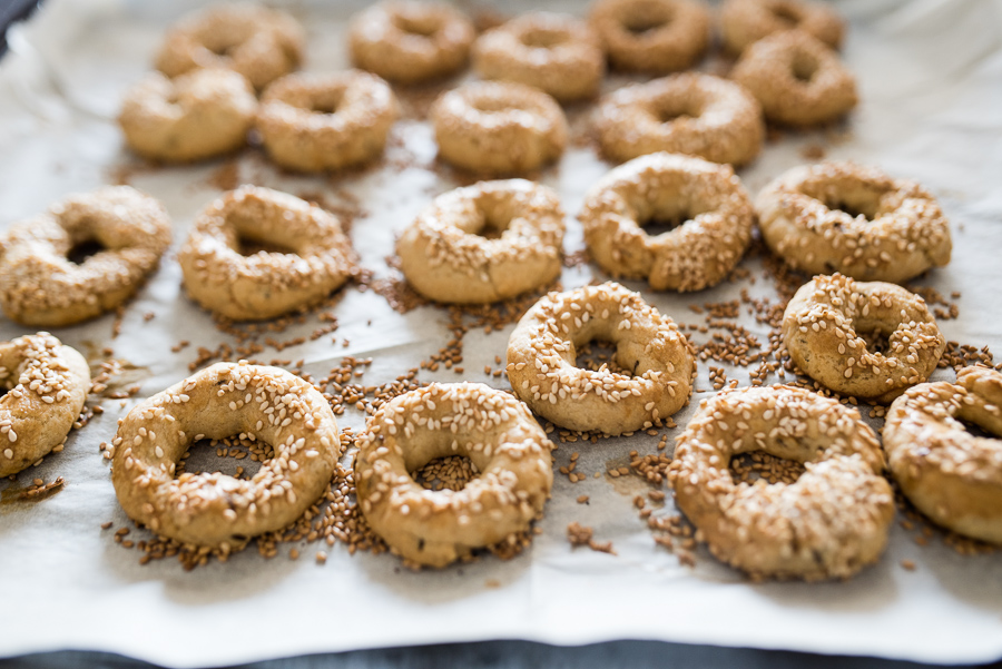 Ka'ak: Syrian Cookies with Sesame and Caraway Seeds | Gather a Table