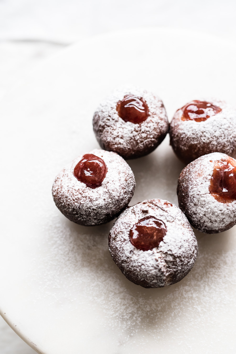 Sufganiyot: Israeli Doughnuts with Jam or Miso Caramel | Gather a Table