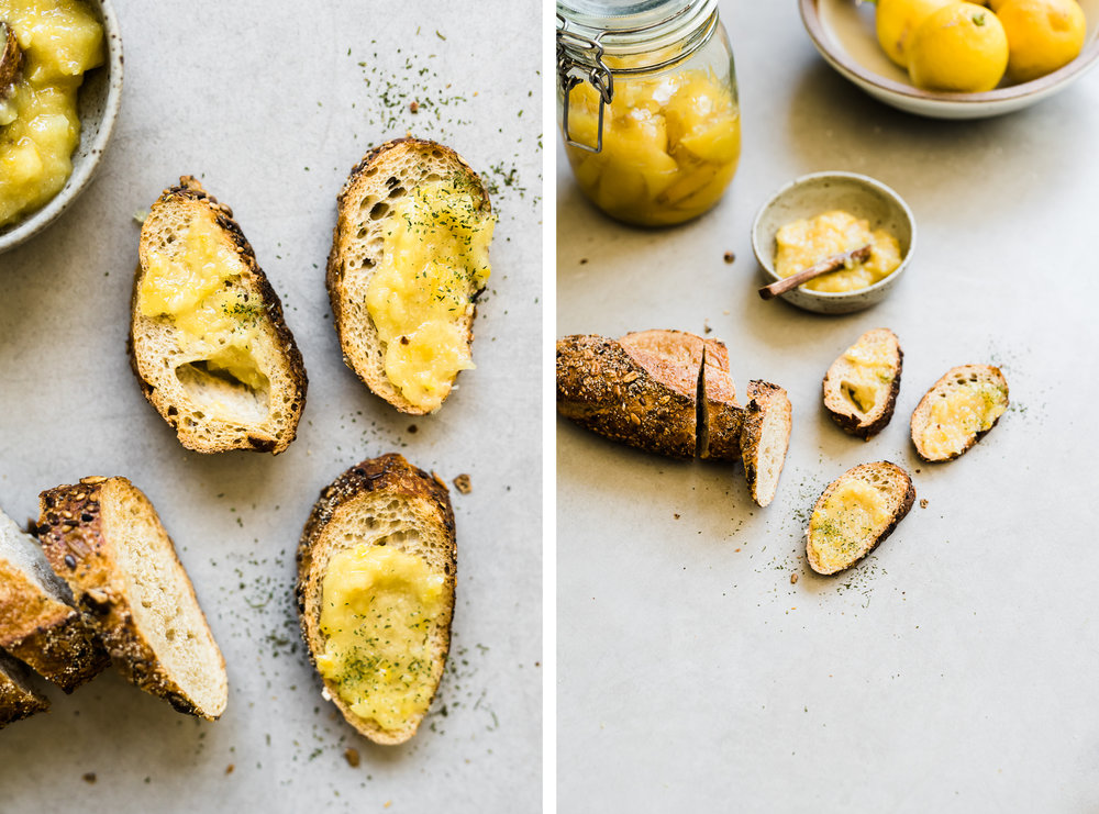 Preserved Lemon Spread   Gather a Table