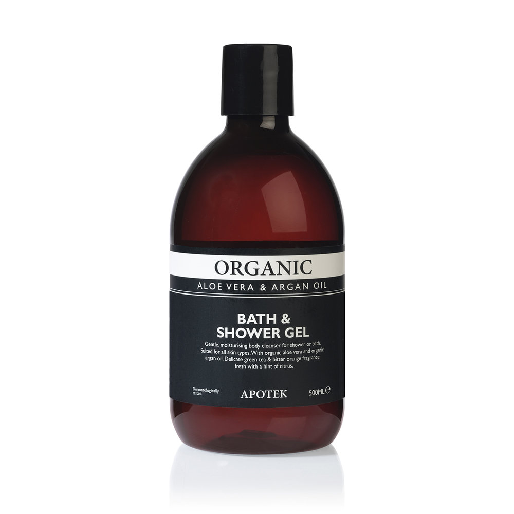 Apotek organic bath & shower gel