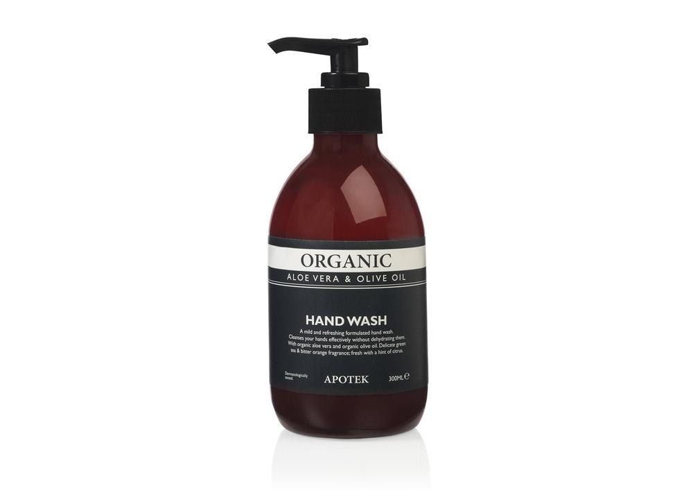 Apotek apothecary brand organic handwash aloe vera & olive oil