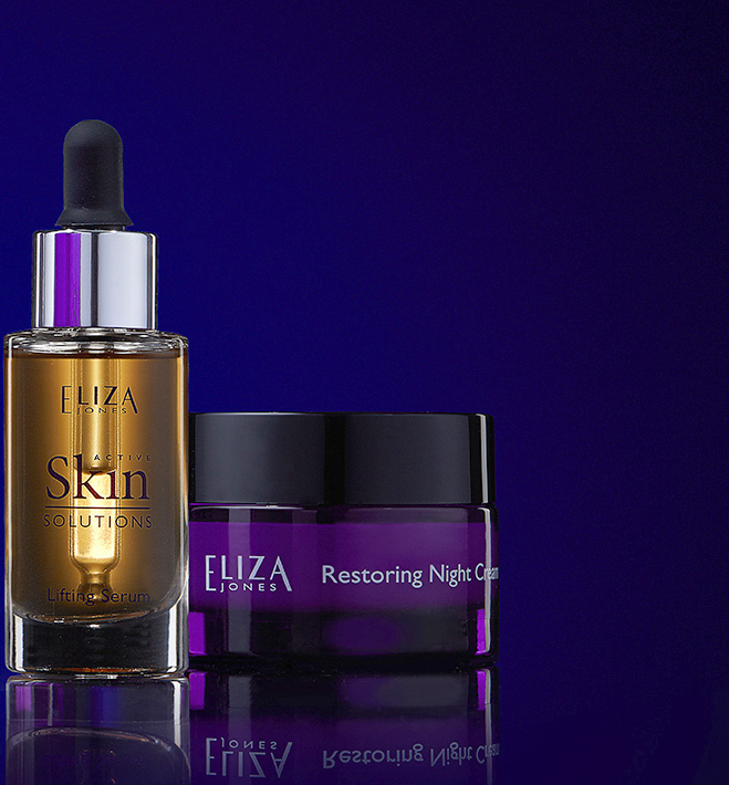 Eliza Jones Serum and Restoring Night Cream and Lifting Serum
