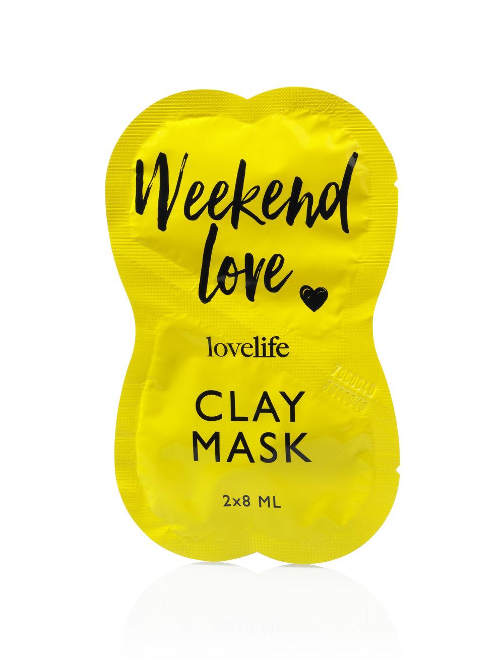 Weekend Love Gezichtsmasker Masker Action