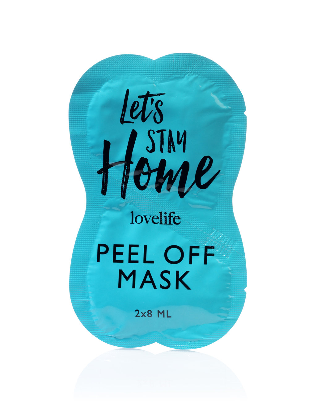 Let's Stay Home Peeloff Masker Mask