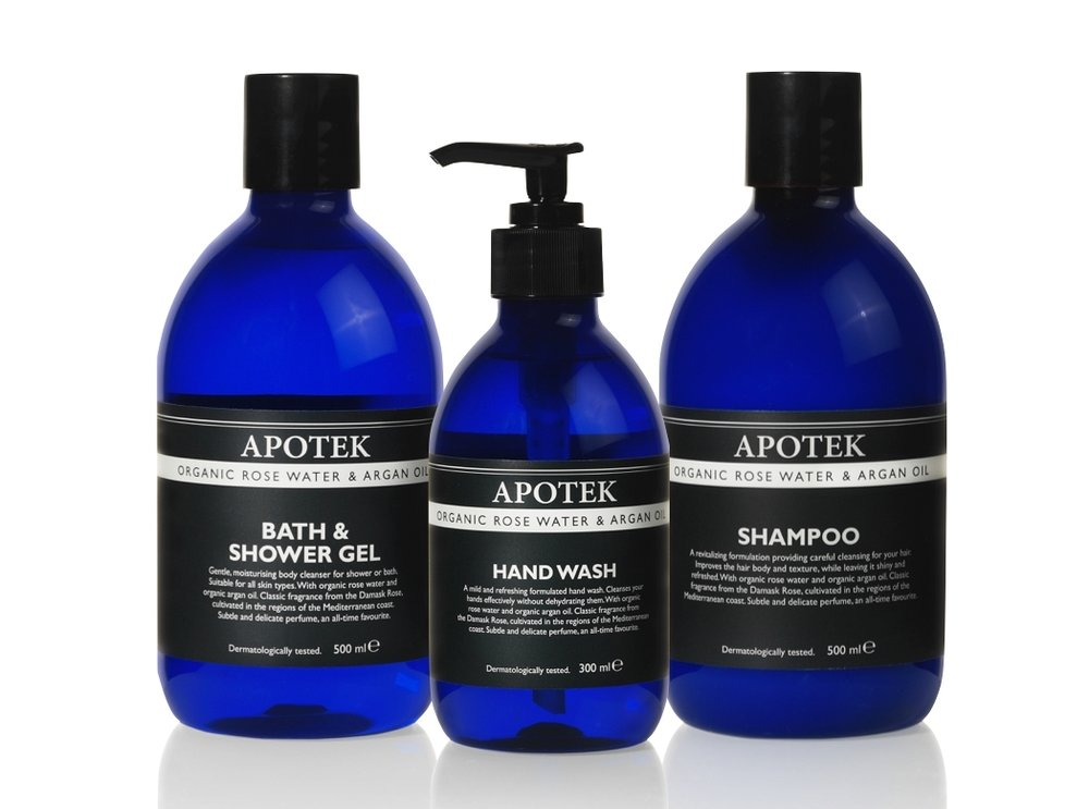 Apotek Organic Rose Water & Argan Oil