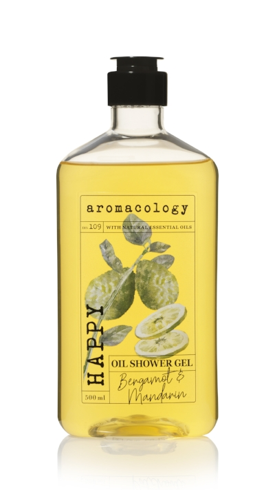 Aromacology Oil Shower Gel Bergamot and Mandarin