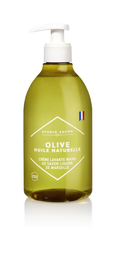 Studio Savon - Olive Huile Naturelle - Creme Lavante Mains