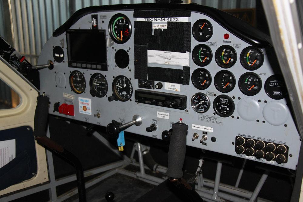 P92 cockpit