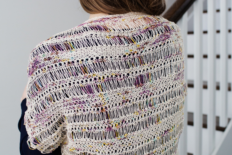 Cocoon Shrug by Catherine Salter Bayar