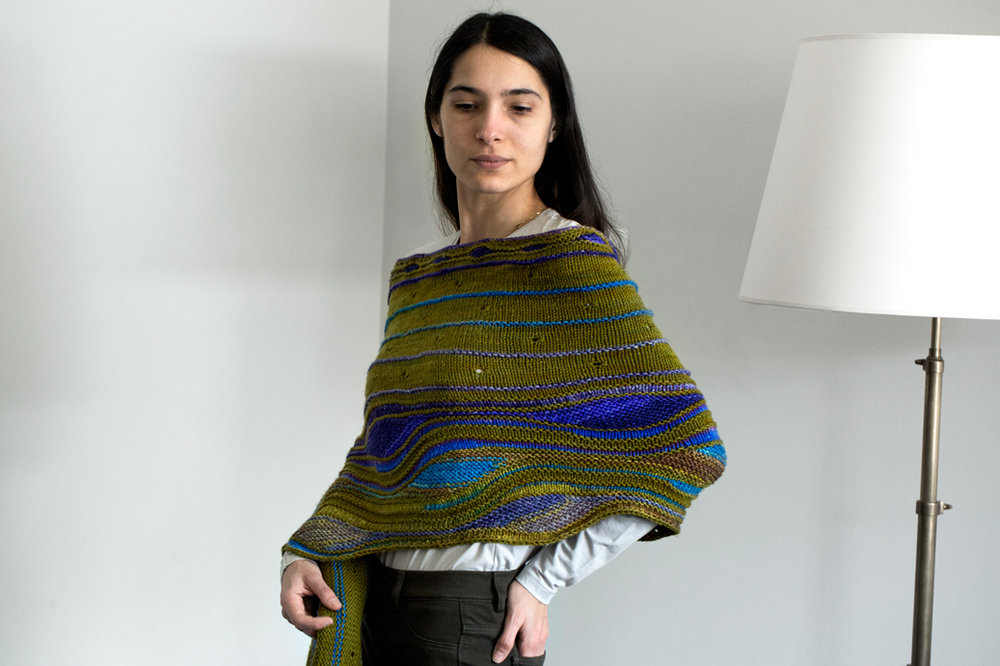 Hillbrook Shawl by Brigitte Elliot